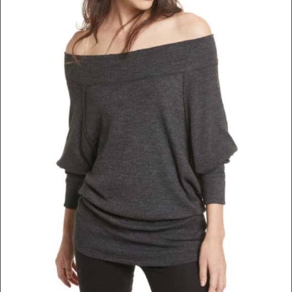 6d433db296486c Free People Tops - Free People Palisades Off the Shoulder Top